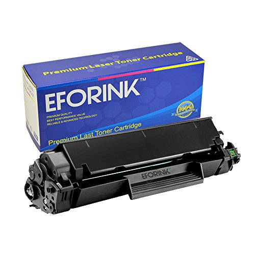 EFORINK Compatible Black Toner Cartridge Replacement for Canon 128 (3500B001AA)/CE278A 78A Toner Cartridge - 1 Pack