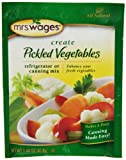 Mrs. Wages Pickled Vegetables, 1.4-Ounce Pouches (Pack of 12)