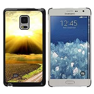 iKiki Tech / Estuche rígido - Nature Beautiful Forrest Green 88 - Samsung Galaxy Mega 5.8 9150 9152