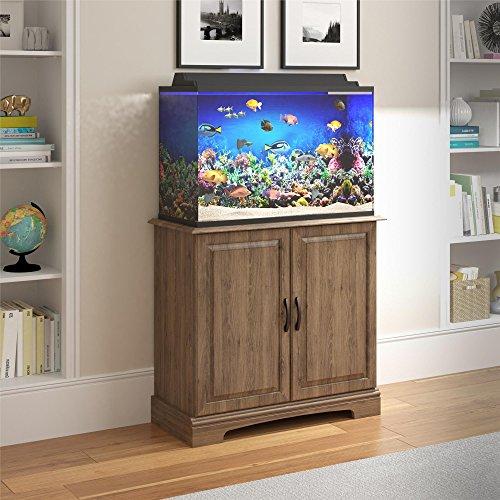 Ameriwood Home 5691333COM Harbor Aquarium Stand, 29-37 Gallon