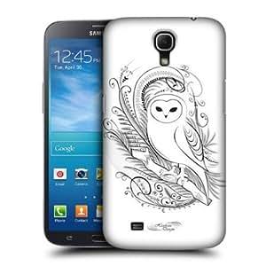 Quaroth - Head Case Owl Calligraphy Hard Back Case For Samsung Galaxy Mega 6.3 I9200 I9205
