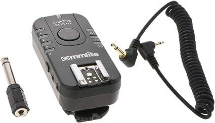 Baoblaze Commlite Ct-g430cr Receptor de Disparo de Flash de Estudio Multifuncional para Canon
