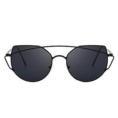 901c28007665 Ecotrump Punk Style Women Unique Cat Eye Sun Glass Big Frame Travel  Sunglasses(A): Amazon.co.uk: Clothing