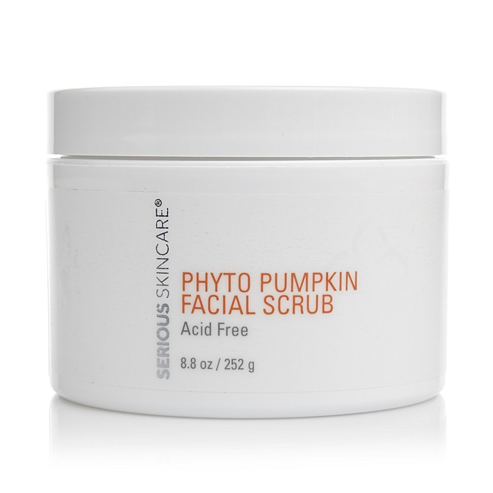 Serious Skincare Super Size Phyto Pumpkin Facial Scrub 8.8 oz.