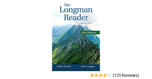 Amazon the longman reader brief edition 11th edition amazon the longman reader brief edition 11th edition 9780133800401 judith nadell john langan books fandeluxe Image collections