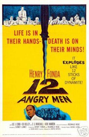 Hot Stuff Enterprise 5175-12x18-LM Twelve Angry Men Poster