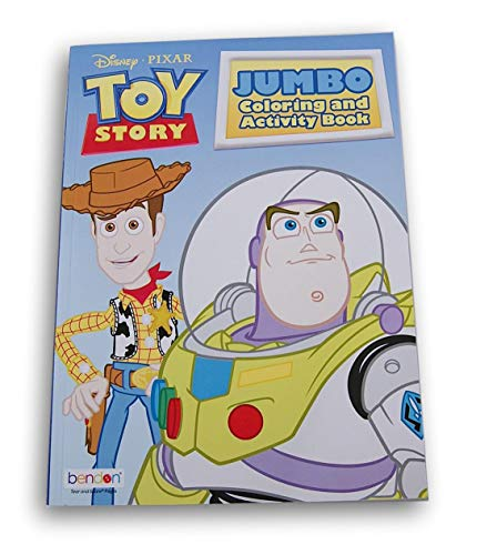Lazy Days Toy Story Coloring and Activity Book - 80 Pages