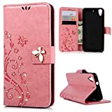 Best Phone Cases For HTC Desires - HTC Desire 626 / 626s Case-MOLLYCOOCLE Stand Wallet Review