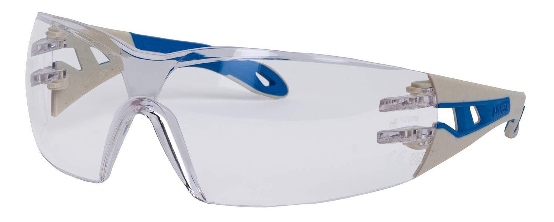 Uvex Pheos S Gafas Protectoras - Seguridad Trabajo - Transparentes Anti-rayaduras y Anti-vaho