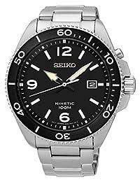 Seiko SKA747 Men's Stainless Steel Kinetic Wrist Watch