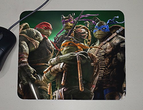 Teenage Mutant Ninja Turtles - TMNT - Novelty Gift - Custom Name Mouse Pad]()
