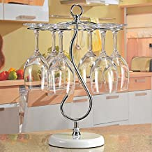 Upside down hanging Cup holder innovative red wine glass rack Goblet-A