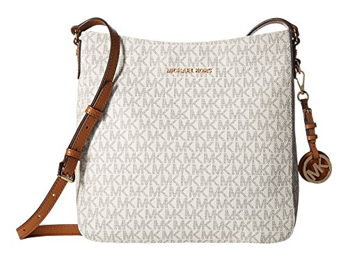 Michael Kors Signature Jet Set Travel Large Messenger VANILLA