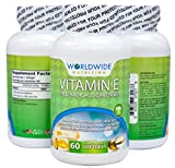 Worldwide Nutrition Pure Vitamin E 400 IU – 60 Softgels Review