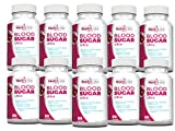 Health Labs Nutra Blood Sugar Ultra - Supports Healthy blood sugar levels, Cardiovascular Health, strengthens Immune System - Pack of 10