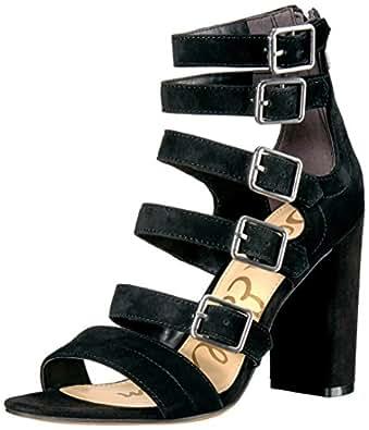 Sam Edelman Women's Yasmina Dress Sandal, Black, 10 M US