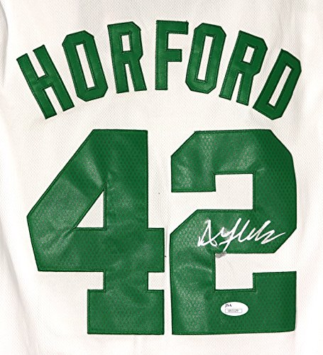 Al Horford Boston Celtics Signed Autographed White #42 Jersey JSA COA (Celtics Jersey Autographed White)