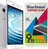 BlueArmor HD Clear Tempered Glass Screen Guard Protector for Reliance Jio Lyf Water 7