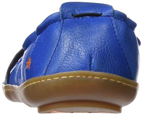 Kio Con Art Azul 1291 Para Mujer Memphis Punta Bailarinas sea Cerrada E6q41xqA