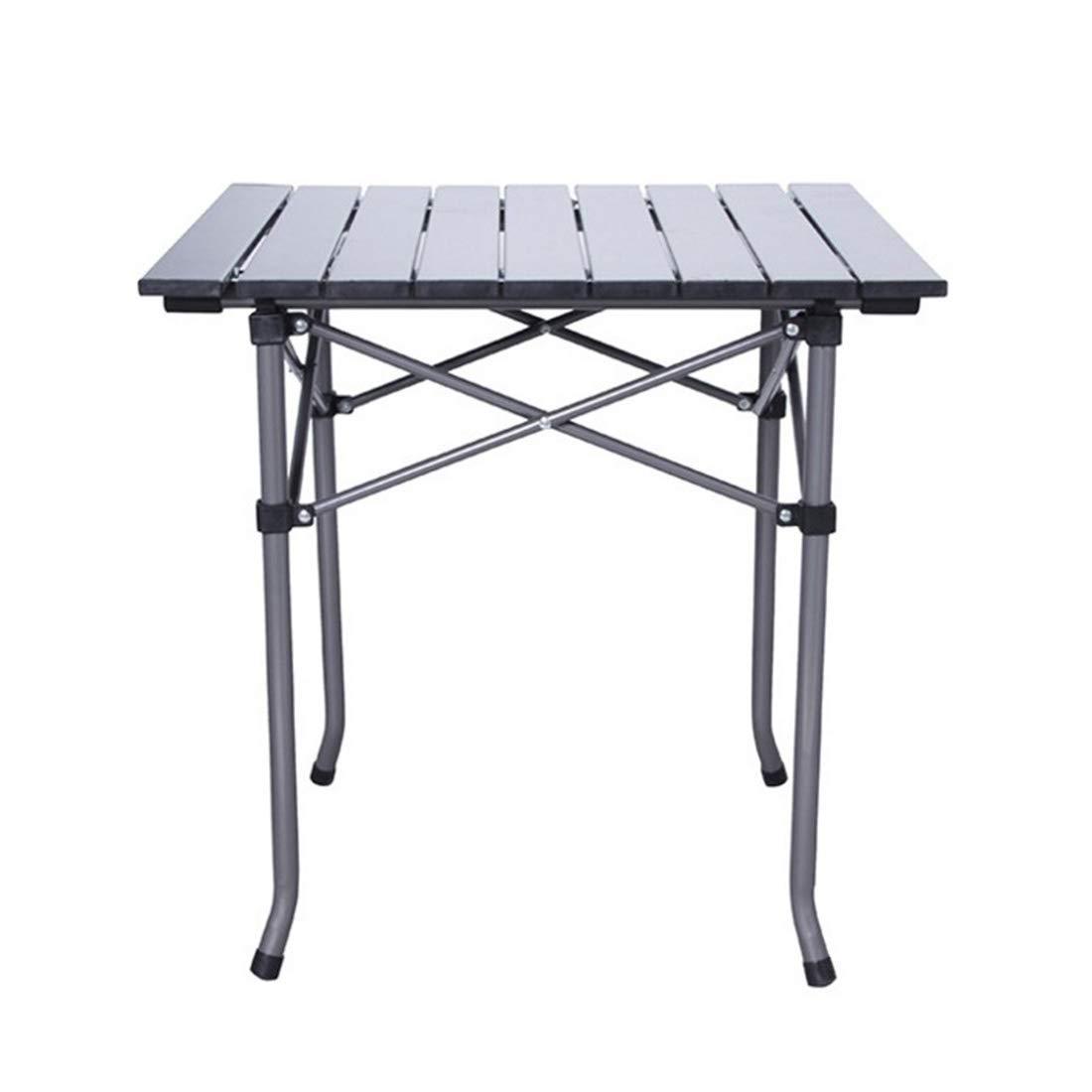 FUBULECY Outdoor Klapptisch und Stuhl Set Aluminium Strandstühle und fünf Sätze von tragbaren Speicher Grill Tisch und Stuhl Kombination Ausrüstung