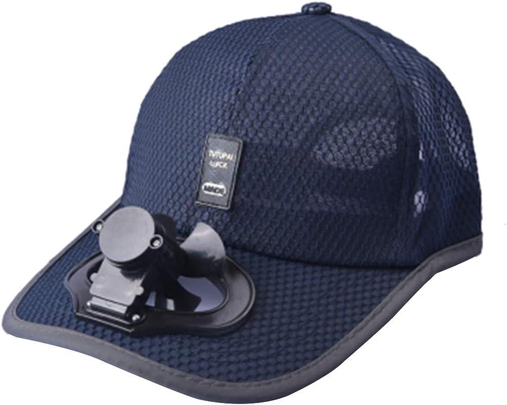 Unisex USB Charging Belt Fan Baseball Golf Hat Storage Belt Switch Fan Cap Sun hat Peaked Cap/Panel on The Cap Front Hat