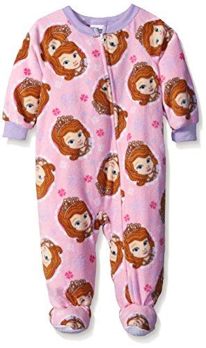 Disney Girls Footed Blanket Sleeper