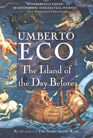 book cover of The Island of the Day Before