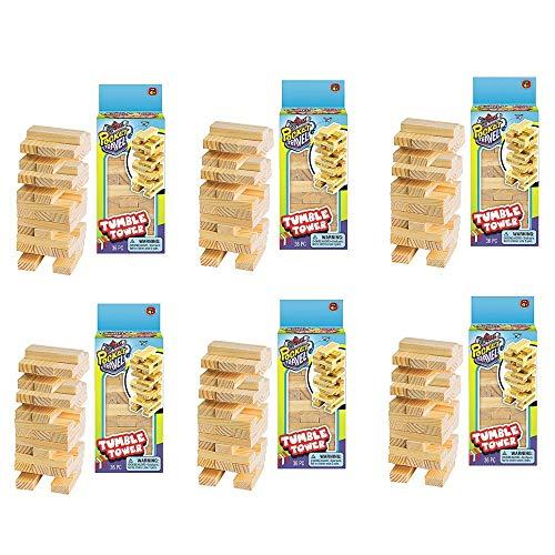 Mini Stacking Blocks (Pack of 6)