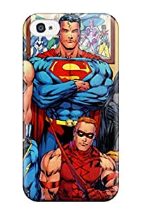 New ZippyDoritEduard Super Strong Attractive Dc Comics Superheroes Tpu Case Cover For Iphone 4/4s