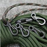 SZHOWORLD® 10PCS/LOT Mini SF Spring Backpack Clasps Climbing Carabiners EDC ...