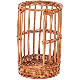 Baguette Basket Round Natural Willow- 12'' Dia x 19'' H