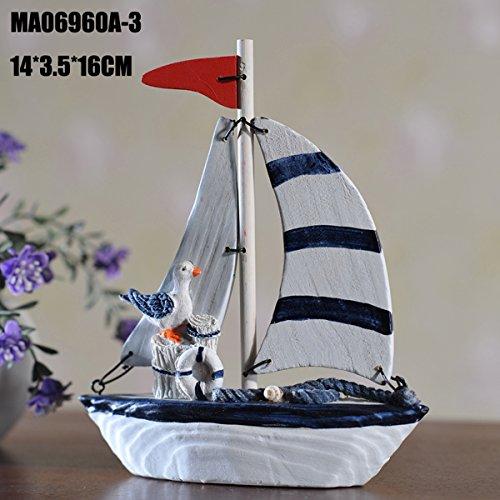 UNIQUEBELLA Ornament Decoration Sailing Lifebuoy