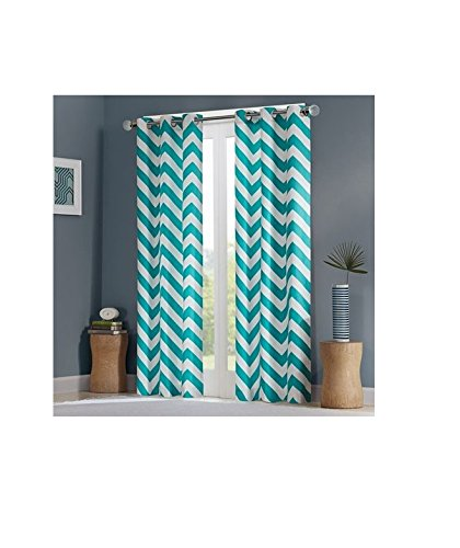 Grommet Curtains And Drapes Chevron Bedroom Teen Girl