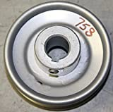 Rotary 758 3'' Cast Steel V Idler Pulley P-310 5/8'' CH 3/16'' Keyway
