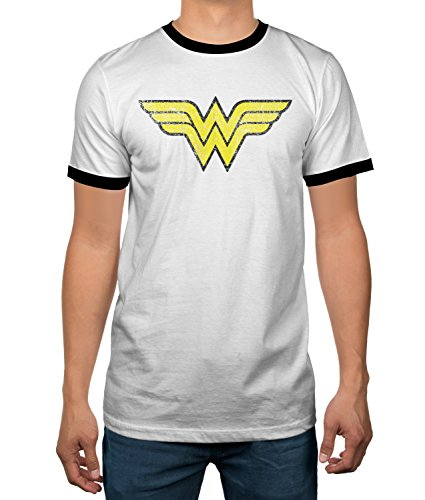 DC Comics Shirt A Wonder Adult Ringer T
