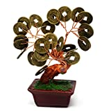 Feng Shui Citrine Crystal Gem Stone Money Tree W Fengshuisale Red String Bracelet SKU:U1122-1