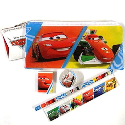Disney Pixar Cars - Filled Pencil Case Set