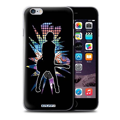 Coque de Stuff4 / Coque pour iPhone 6+/Plus 5.5 / émotion Noir Design / Rock Star Pose Collection