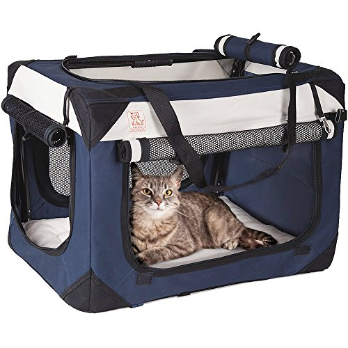 Cat Carrier With Food And Water