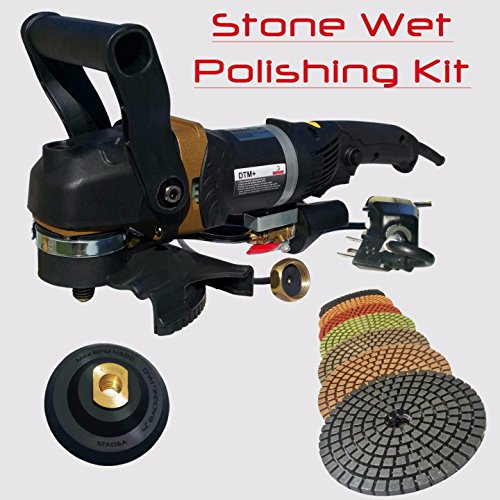 Diamond 12' Head (Stadea SWP105K Stone Concrete Countertop Grinder Polisher Wet Stone 4