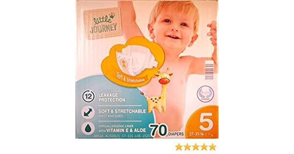 Little Journey Baby Disposable Diapers: Amazon.com: Grocery & Gourmet Food