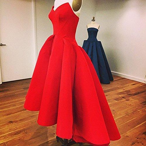 Aurora Jupe En Queue D'aronde De Mariée 2016 Satin Plissé Robes De Soirée Grise