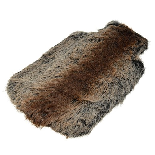 sheepskin hot water bottle cover - 2