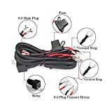 Somaer 12V Horn Wiring Harness Kit For Car Truck