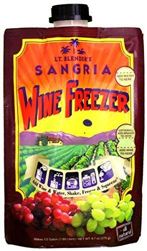 Lt. Blender's Wine Freezer Sangria, 9.7-Ounce Pouch (Pack of 2) by Lt. Blender