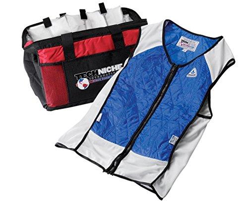 Techniche Hybrid Elite Sport Cooling Vest (Blue, Small) 4531BLS by Techniche