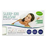 U.S. Jaclean USJ-911 Sleep Eze Orthopedic Contour Pillow; Made With Visco-Elastic Memory Foam Material; Hypoallergenic; Naturally Antimicrobial; Resistant To Mold, Dust Mites, and Other Bacteria