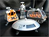 Lost In Space Die Cast Metal Vehicles Robot Space Pod Chariot and the Jupiter 2