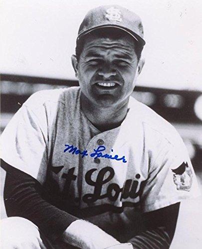Autographed Lanier Photo - Deceased 2007 8x10 W c - Autographed MLB Photos