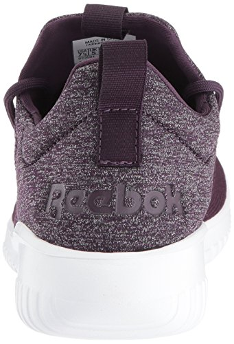 visit new online Reebok Women's Skycush Casual Track Shoe Lavish Purple/Washed Plum/White low price for sale qcjru
